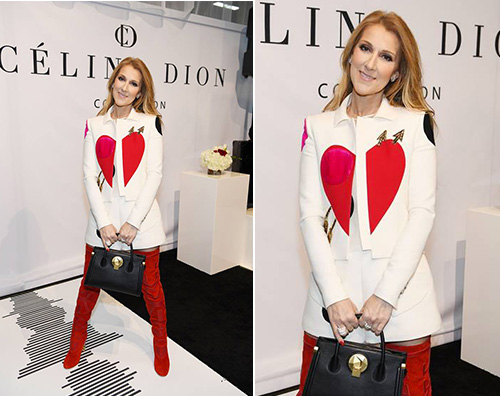 celine dion 1 Celine Dion in minigonna a Las Vegas