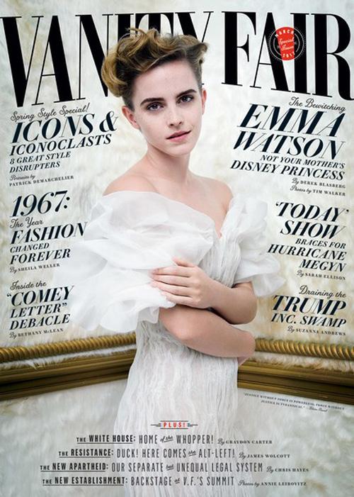 Emma Vanity Fair Emma Watson come Justin Bieber, niente selfie con i fan