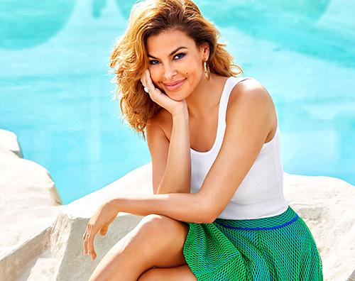 Eva Mendes Eva Mendes è la star di aprile su Shape Magazine