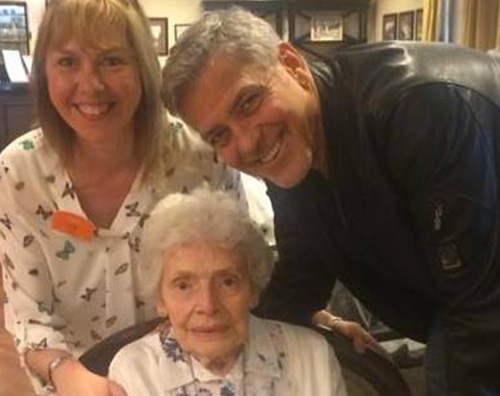 George Clooney George Clooney fotografato al Lax