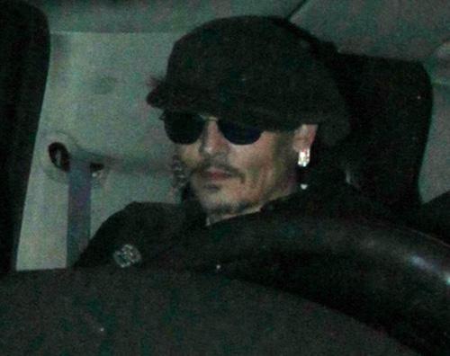 Johnny Depp 2 Johnny Depp al party di Lady Gaga