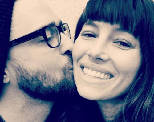 Justin e Jessica Justin Timberlake romantico su Instagram