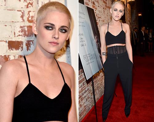 Kristen Stewart Kristen Stewart cambia look alla prima di Personal Shopper
