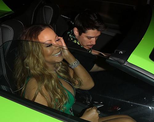Mariah Carey 2 Mariah Carey festeggia San Patrizio con Bryan
