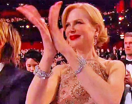 Nicole Kidman Nicole Kidman Agli Oscar non riuscivo ad applaudire
