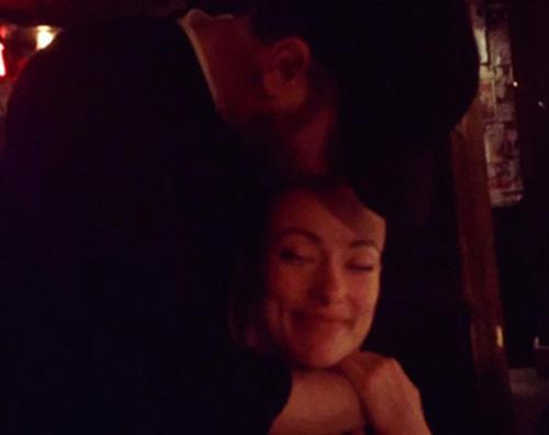 Olivia Wilde Olivia Wilde festeggia il suo compleanno con Jason