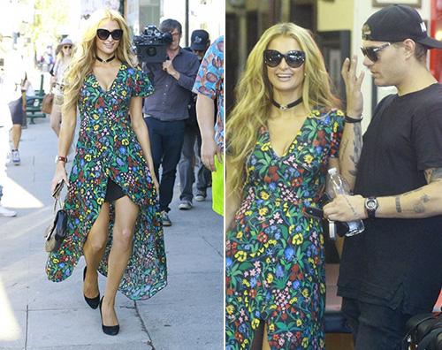 Paris Hilton e Chirs Paris Hilton e Chirs fanno tappa dal tatuatore