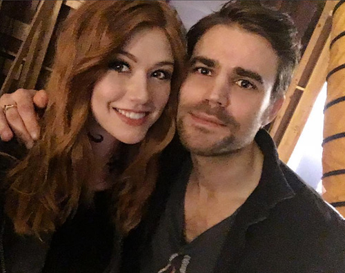 Paul Wesley 1 Paul Wesley sul set di Shadowhunters