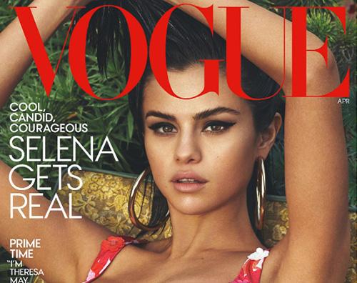 Selena Gomez Cover Selena Gomez inaugura la primavera sulla cover di Vogue