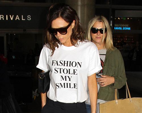 Victoria Beckham Victoria Beckam La moda mi ha rubato il sorriso