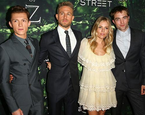 Cover Il cast di The Lost City of Z alla premiere di Los Angeles