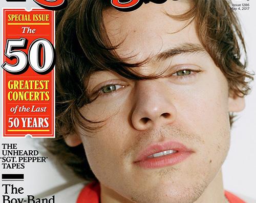 Harry Styles 1 1 Harry Styles parla di Zayn Malik e Taylor Swift su Rolling Stone