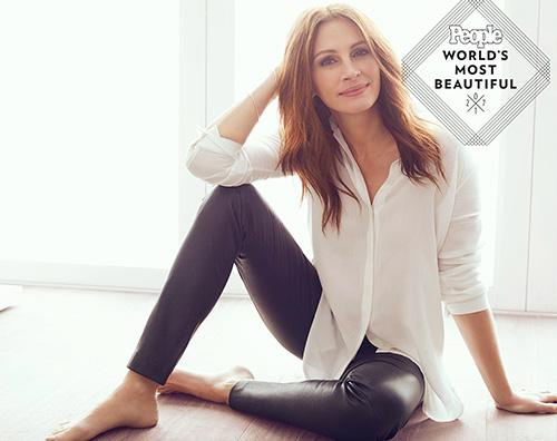 Juliah Roberts 1 E' Julia Roberts la donna più bella al mondo per People