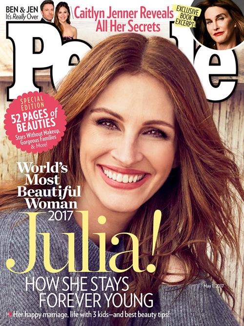 Juliah Roberts 2 E' Julia Roberts la donna più bella al mondo per People