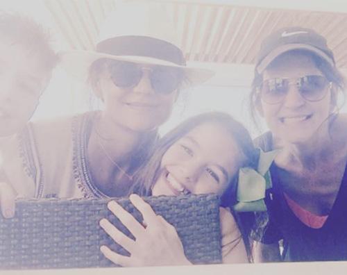 Katie holmes 2 Katie Holmes, weekend al mare con Suri
