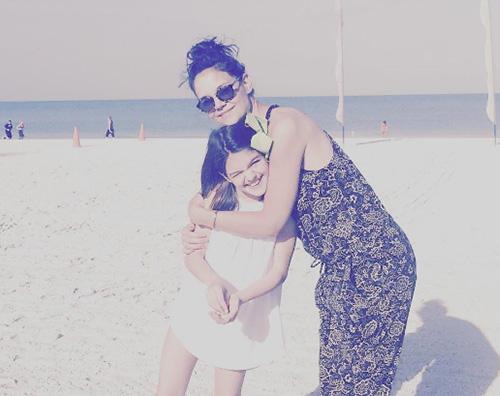 Katie holmes Katie Holmes, weekend al mare con Suri