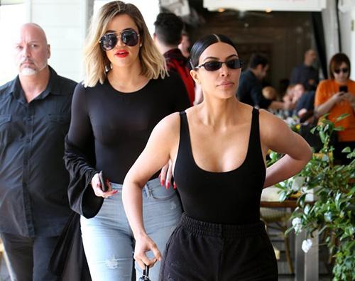 Kim Kardashian 1 Kim Kardashian, pomeriggio con Kourtney e Khloe