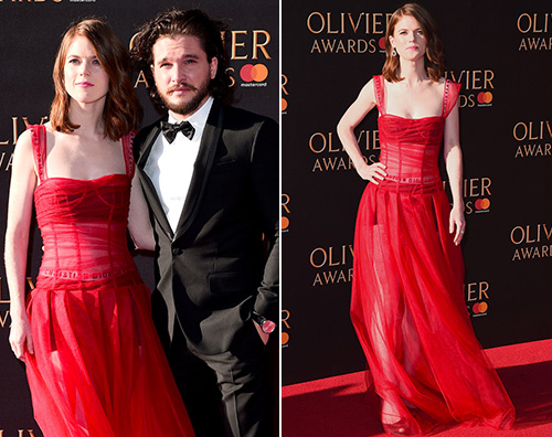Kit Rose Kit Harington e Rose Leslie, red carpet di coppia
