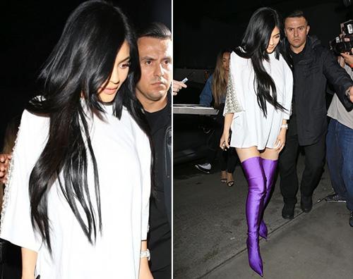 Kylie Jenner 1 Kylie Jenner senza pantaloni a Los Angeles
