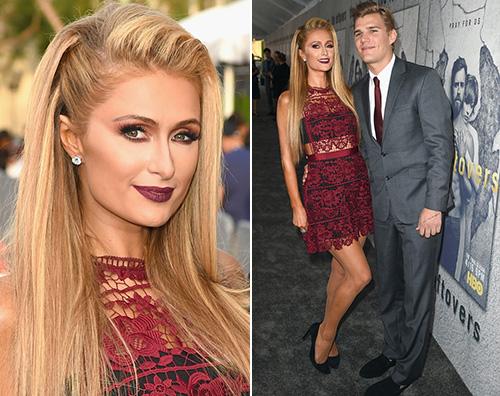 Paris Hilton Jennifer e Justin in coppia alla premiere di The Leftovers