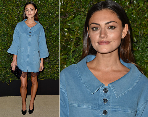 Phoebe Tonkin Phoebe Tonkin all evento Chanel di Santa Monica