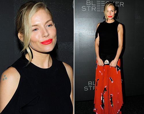 "Sienna Miller 1 Sienna Miller stilosa per ""The Lost City of Z"""