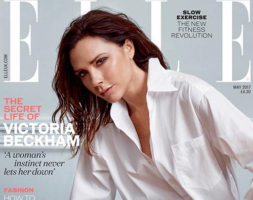 Vic Victoria Bekcham è la star di Elle UK