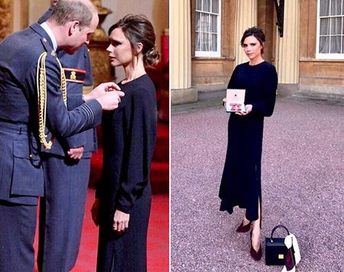 Victoria Beckham 1 Victoria Beckham premiata dal Principe William