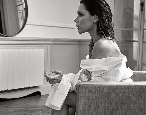 Victoria Beckham Victoria Bekcham è la star di Elle UK