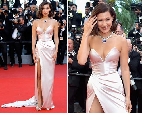 Bella Hadid Bella Hadid è tornata a Cannes