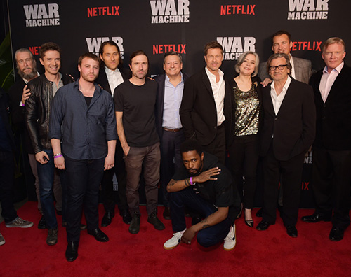 "Brad Pitt 2 Brad Pitt presenta ""War Machine"" a New York"