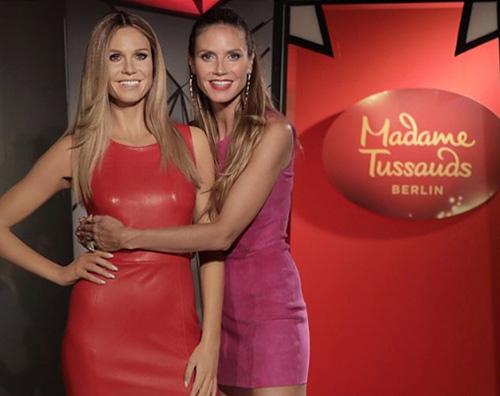 Heidi Klum 1 Heidi Klum ha una cera al Madame Tussauds di Berlino
