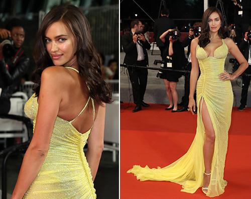 Irina Shayk 1 Irina Shayk informissima a Cannes