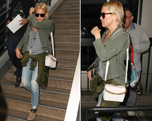 Kate Hudson Kate Hudson torna a casa dopo il Met Gala
