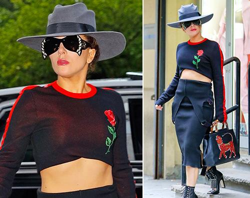 Lady Gaga Lady Gaga eccentrica a New York