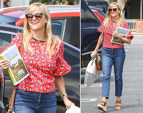 Reese Witherspoon 1 Reese Witherspoon fa shopping a Brentwood