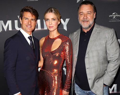 """Tom Cruise 2 Tom Cruise presenta """"La Mummia"""" a Sydney"""