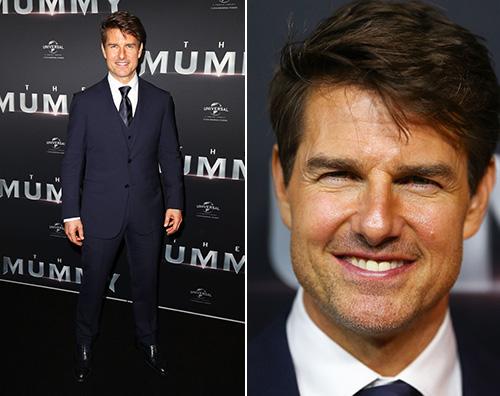 """Tom Cruise Tom Cruise presenta """"La Mummia"""" a Sydney"""