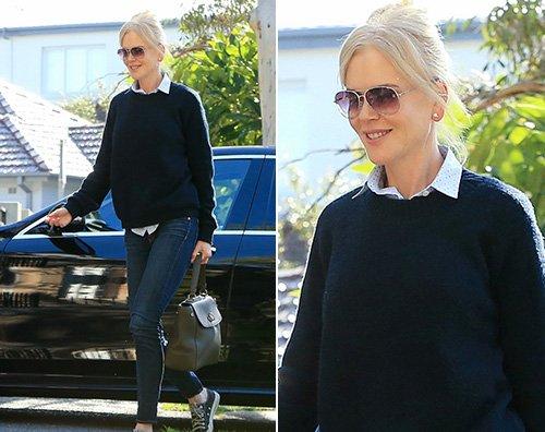 Nicole kidman Nicole Kidman torna in Australia dopo Cannes
