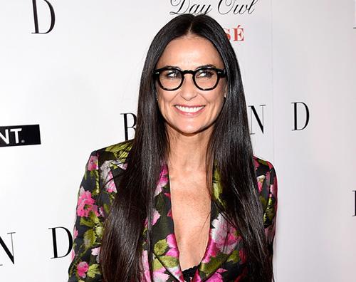 Demi Moore 2 Demi Moore presenta Blind a New York