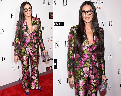 Demi Moore 3 Demi Moore presenta Blind a New York