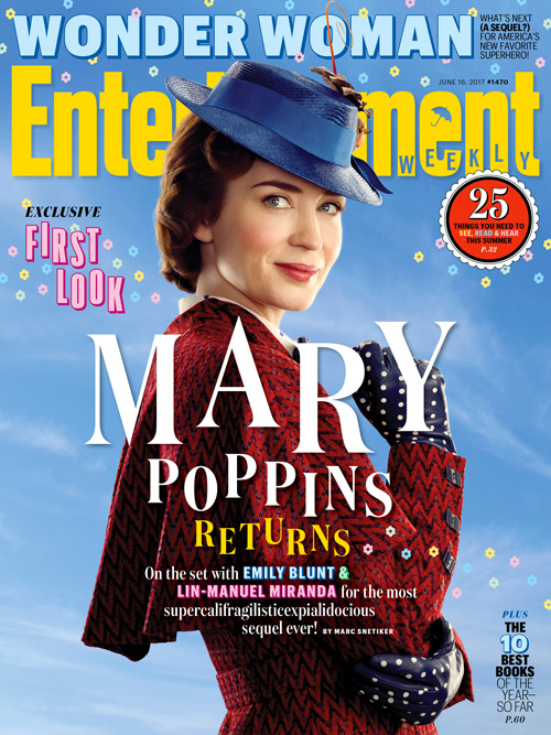 Emily Blunt Emily Blunt è Mary Poppins su Entertainment Weekly