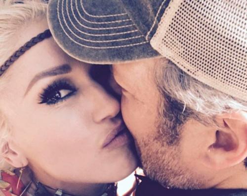 Gwen Stefani Gwen Stefani festeggia il compleanno di Blake su Instagram