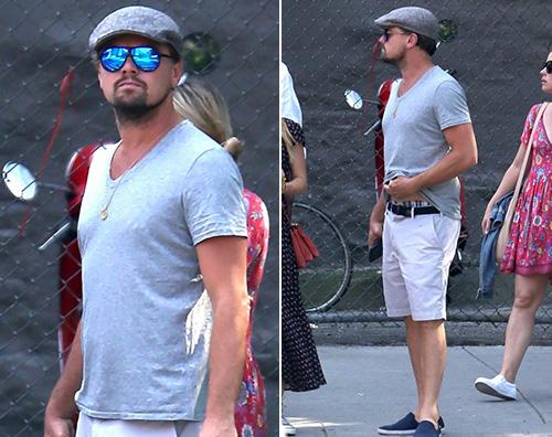 Leo DI Caprio Leonardo Di Caprio, passeggiata con Jennifer Meyer