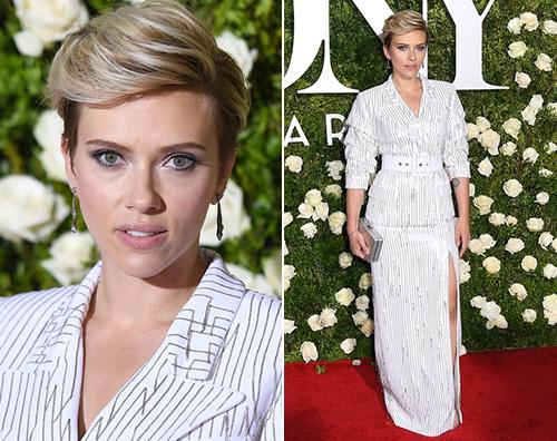Scarlett Johansson Scarlett e Uma star dei Tony Awards 2017