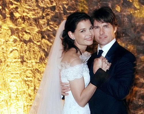 Tom Cruise Katie Holmes 8 coppie celebri che si sono sposate in Italia