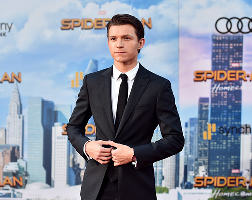 Tom Holland 1 Spider  Man: Homecoming sbarca ad Hollywood