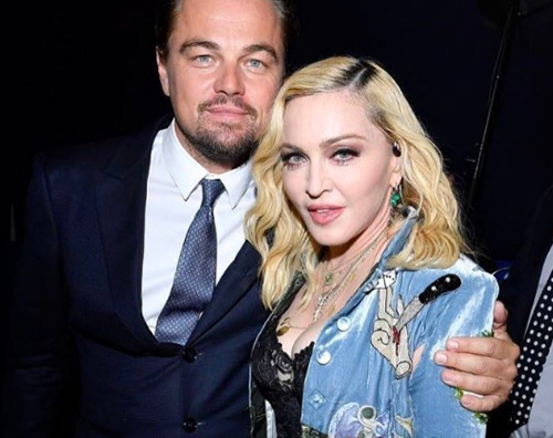 Madonna Leo Serata di gala per Leonardo DiCaprio a Saint Tropez