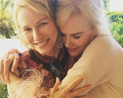 """Naomi Watts e Nicole Kidman Naomi Watts """"Nicole Kidman è tutto per me"""""""