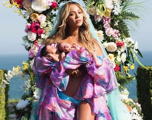 beyonce Beyonce presenta i suoi gemelli